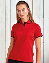 Ladies Contrast Coolchecker Polo